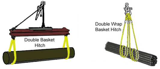 Basket Hitch variations
