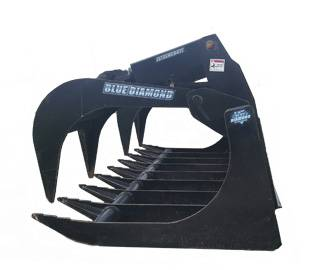 Skid-Steer-grapple-bucket