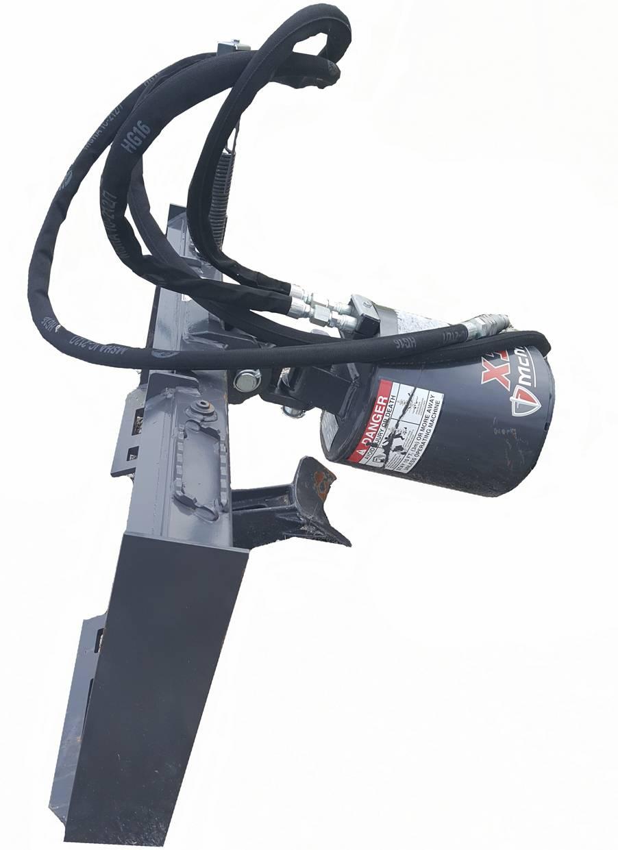 Skid-Steer-hydraulic-post-digger