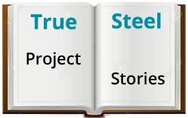 Open book image to tell stories about projects
