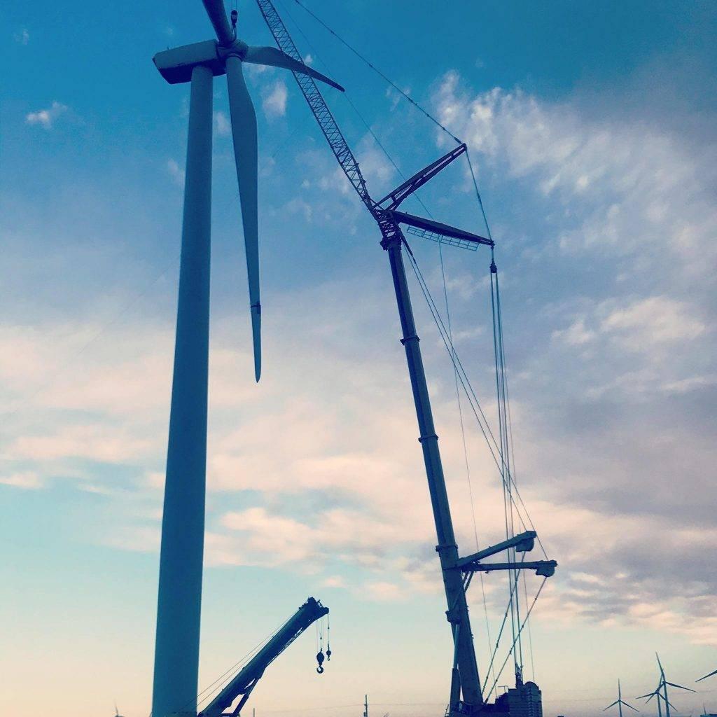 Turbine maintenance