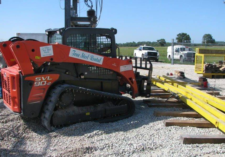True Steel Crane & Rental - True Steel rental equipment available in OKC, Enid, Ada, and Kingfisher - True Steel can provide jack and slide equipment.